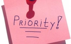 prioritizing God